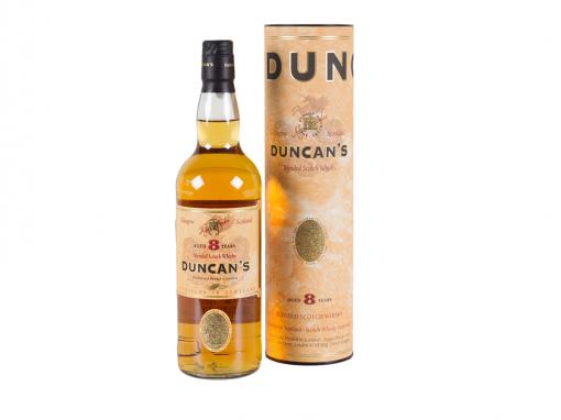 Duncan's Blended Scotch Whisky 8YO