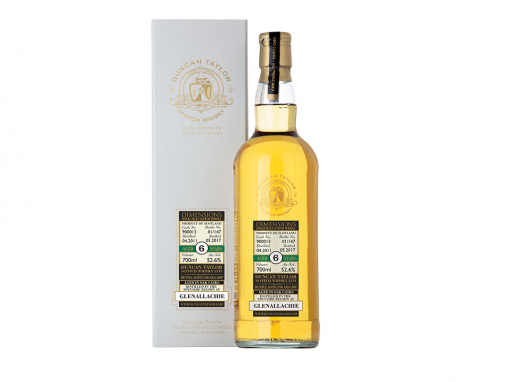 Duncan Taylor Dimensions Glenallachie Cask Strength Aged 6YO Scotch Whisky