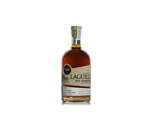 Domaine Laguille Bas Armagnac 20 Ans Small Batch – Fut N°127